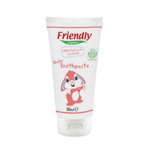 Friendly Organic  Органична бебешка паста за зъби - 50 мл. 01727